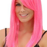 Pink Explosion Straight Wig