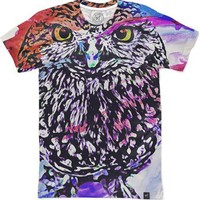 Owl Women's T-Shirts by Galen Valle | Nuvango