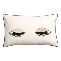 H&M - Cotton Cushion Cover - White