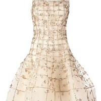 Oscar De La Renta Sleeveless Embellished Dress - L'eclaireur - Farfetch.com