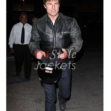 Tom Cruise Enticing Leather Jacket | Instyle Jackets
