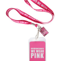 Mean Girls Wear Pink Lanyard