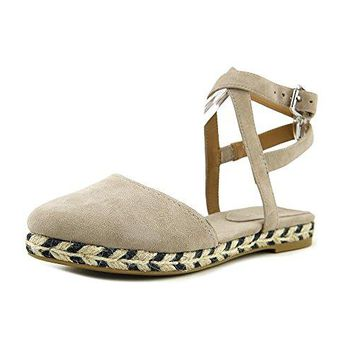 Coach Womens Ozzie Suede Pointed Toe Casual Ankle Strap Sandals