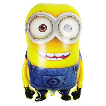 DKF4S 92*65cm Big Size Despicable Me Balloon Minions inflatable air Balls Classic Toys Christmas Birthday Wedding Party Supplies