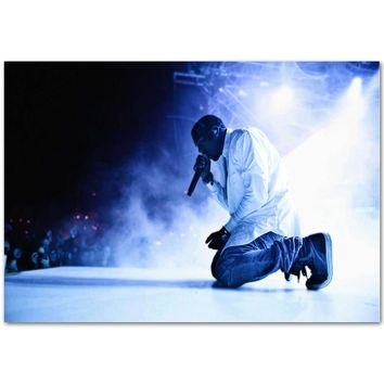 A835 New New Kanye West Rap Music Star Yeezus Tour Top A4 Art Silk Poster Light Canvas Painting Print Home Decor Room Wall Pictu