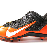 Nike Men's Alpha Pro TD PF Brown/Orange Football Cleats 618055 208