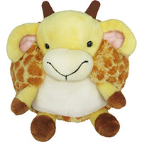 Mini Squishable Giraffe: An Adorable Fuzzy Plush to Snurfle and Squeeze!