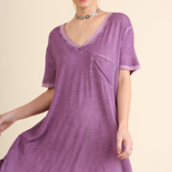 We Are Clever Dress- Purple
