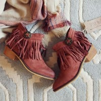 Lost Valley Fringe Boots