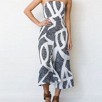 Print Sexy Pants Women's Fashion Jumpsuit [10307980237]