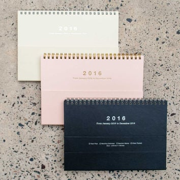Mark's 2016 Notebook Calendar Magnet