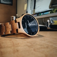 The Denver Bamboo Watch