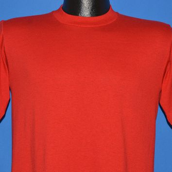 80s Blank Red Jerzees Short Sleeve t-shirt Small