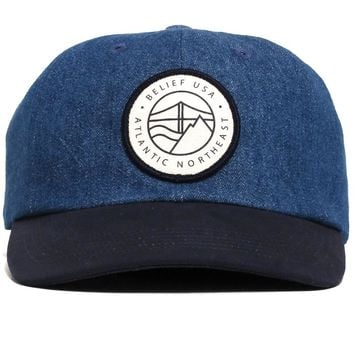 Atlantic 6-Panel Dad Hat Denim