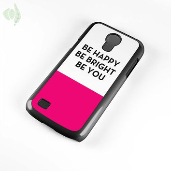 Be Happy Be Bright Be You Kate Spade Samsung Galaxy S4 Mini Case