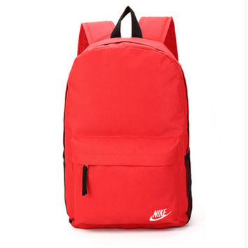"""Nike"" Sport Hiking Backpack College School Travel Bag Day pack Red"