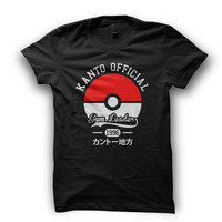 Pokemon T-shirt. Kanto Gym Leader T-Shirt Version 2 - MEN'S Available in many sizes and colours