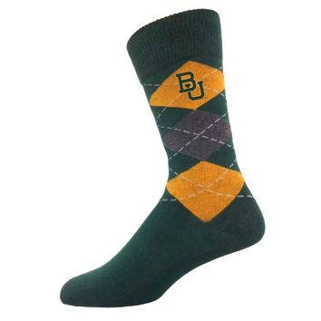 Baylor Men's Argyle Sock