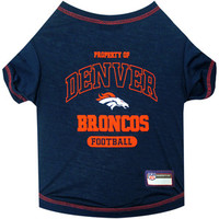 Denver Broncos Pet Shirt LG