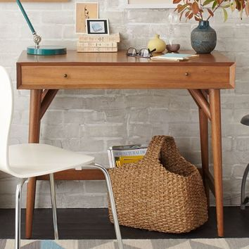 Mid-Century Mini Desk – Acorn
