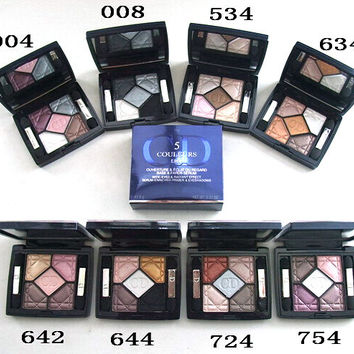 1pcs/lot new professional Brand makeup eyeshadow 5 colors couleurs edition dentelle eye shadow palette 6g free shipping