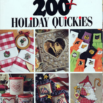 Book of Cross Stitch: 200 plus Holiday Quickies - Leisure Arts 2930