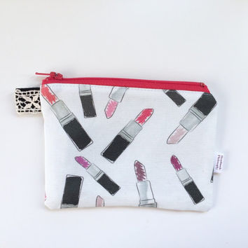 Lipsticks Divided Coin Purse (handmade philosophy's pattern)