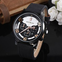 8DESS Montblanc Woman Men Fashion Quartz Movement Wristwatch Watch