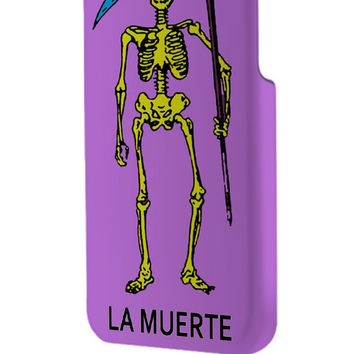 Best 3D Full Wrap Phone Case - Hard (PC) Cover with Loteria La Muerte Design
