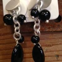 Eye Candy Earrings - Black