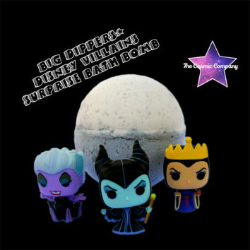 "Big Dippers"" Villains surprise bath bomb"