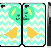His and Hers iPhone 4 Case - Always and Forever iPhone 4s Case - Love iPhone Cover Black - USA Made