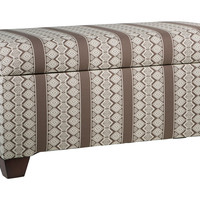 "Hayworth 38"" Storage Bench, Chocolate, Entryway Bench, Bedroom Bench"