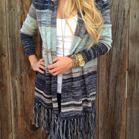 First Love Fringe Cardigan