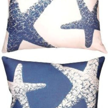 Starfish - Four Seasons Indoor / Outdoor Throw Pillow 18-in x 18-in