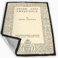 jane austen cover book pride and prejudice Blanket for Kids Blanket, Fleece Blanket Cute and Awesome Blanket for your bedding, Blanket fleece *