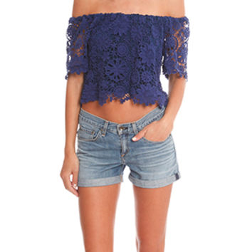Nightcap  Caribbean Crochet Crop Top