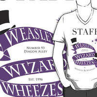 Weasleys' Wizard Wheezes Store Staff (Colored) by thegadzooks