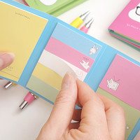 White Bunny Sticky Note Set