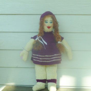 Crochet Tina Doll/Amigurumi Doll/ Toy