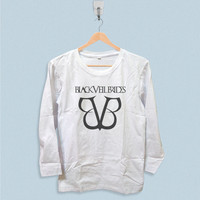 Long Sleeve T-shirt - Black Veil Brides Logo