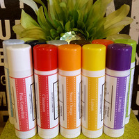 All-Natural Vegan Lip Balms