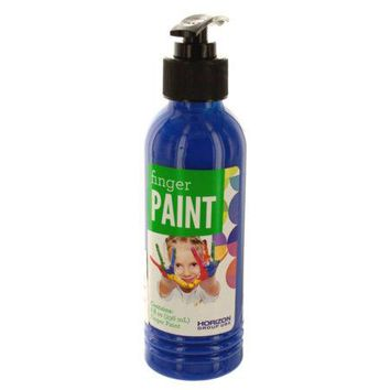 8 oz. Blue Finger Paint in Pump Bottle