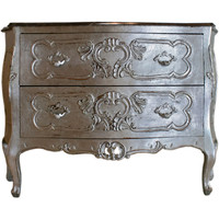 Comer & Co. - Silver Gilt Bombe Chest - 1stdibs
