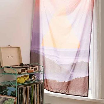Magical Thinking Geometric Landscape Tapestry