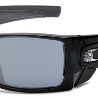 Oakley Men's Batwolf Rectangular Non-Polarized Sunglasses,Black Ink Frame/Black Iridium Lens, One Size