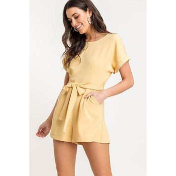 Sweet Like Honey Romper