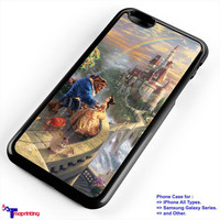 Beauty and The Beast Castle - Personalized iPhone 7 Case, iPhone 6/6S Plus, 5 5S SE, 7S Plus, Samsung Galaxy S5 S6 S7 S8 Case, and Other