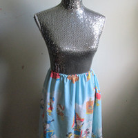 Vintage Mickey & Minnie Mouse and the Gang History Womens Adult Skirt