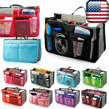 Travel Makeup Cosmetic Bag Case Toiletry Beauty Organizer Zipper Holder Handbag